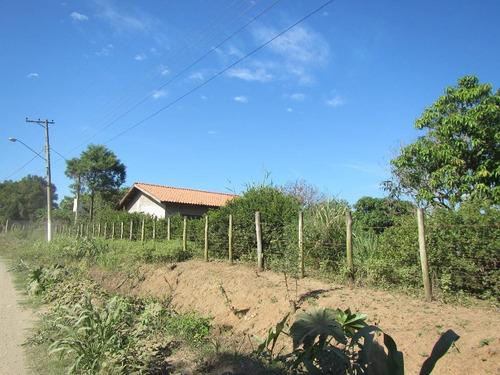 chácara rural à venda, condomínio industrial palmeiras, rio das pedras. - ch0135