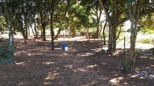 chácara rural à venda, novo jardim pagani, bauru. - ch0008