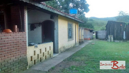 chácara rural à venda, ponte alta, vargem. - ch0191