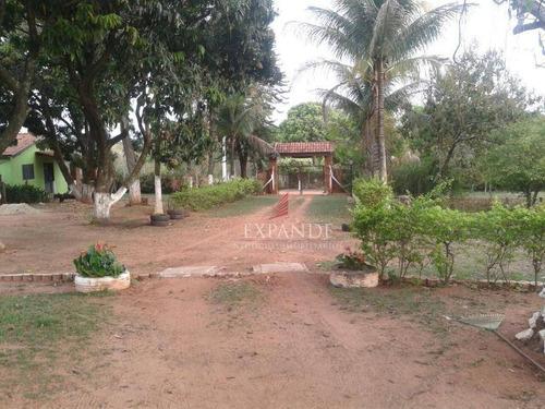 chácara rural à venda, recanto aprazível, bauru. - ch0029