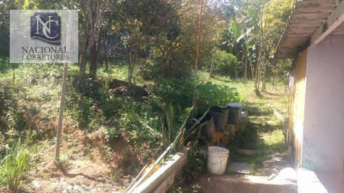 chácara rural à venda, recreio das palmas, suzano. - ch0016