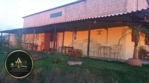 chácara rural à venda, reneville, mairinque. - ch0008