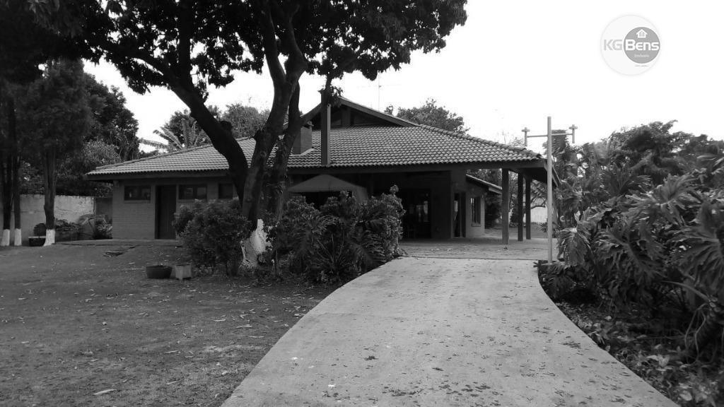 chácara rural à venda, santa terezinha, paulínia. - ch0005