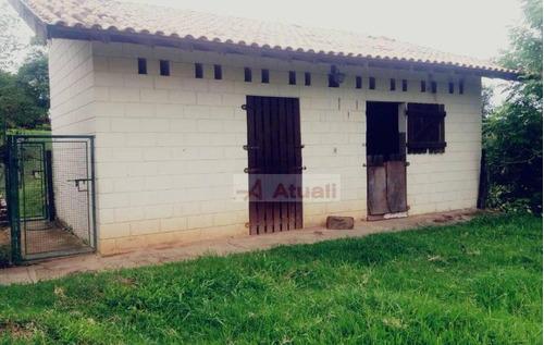 chácara rural à venda, sousas, campinas. - ch0028