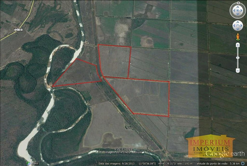 chácara rural à venda, zona rural, formoso do araguaia. - ch0012