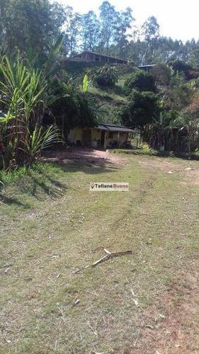 chácara  rural à venda, zona rural, paraibuna. - ch0030