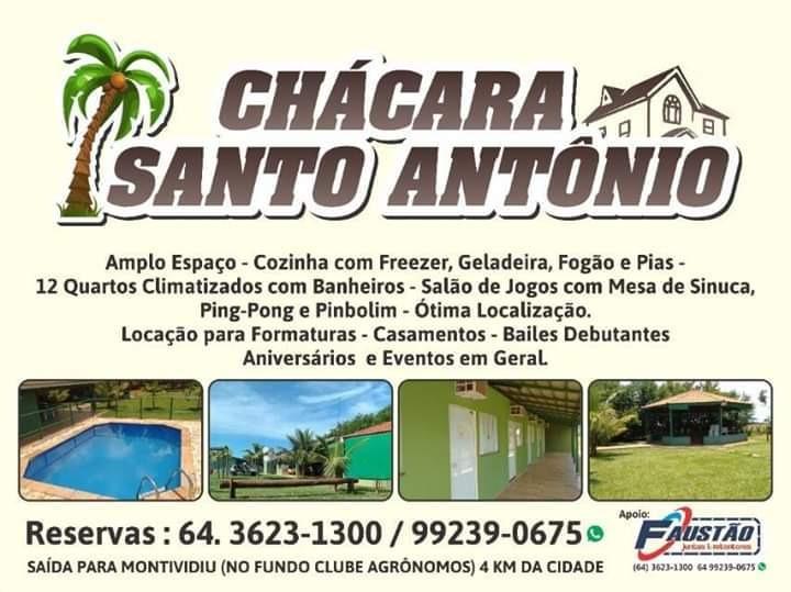 chácara santo antônio 4km rio  verde