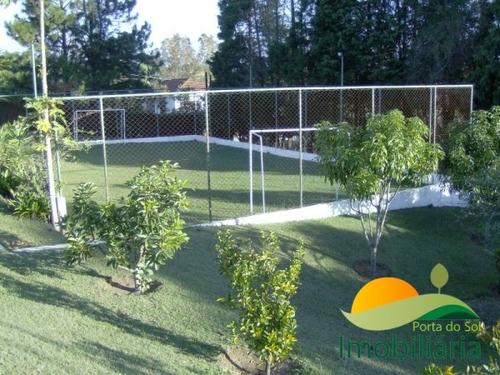 chácara semi plana no condomínio porta do sol - lote 50 x 50 - 87
