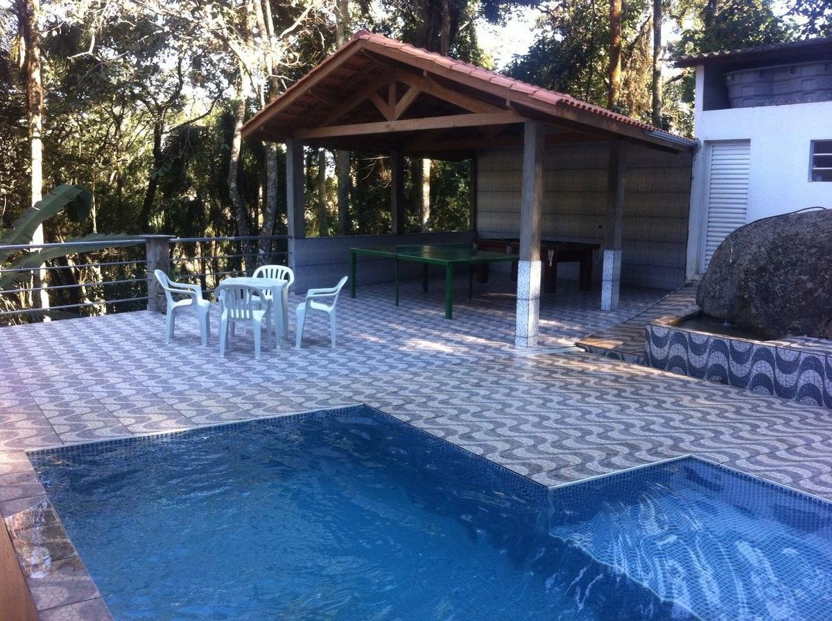 chácara serra da cantareira com piscina aquecida