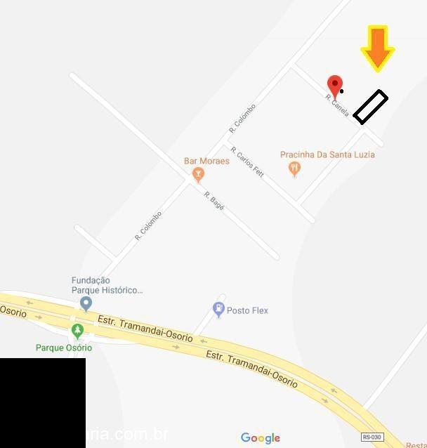 chácara / sítio  com 02 dormitório(s) localizado(a) no bairro santa luzia (distrito) em osório / osório  - 1027