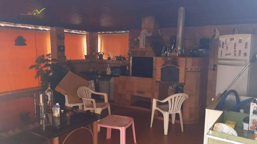 chácara à venda, 1000 m² por r$ 850.000,00 - condomínio água azul - mogi guaçu/sp - ch0088