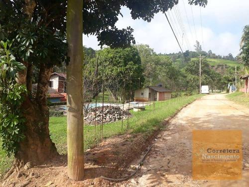chácara à venda, 10000 m² por r$ 700.000 - santa joana - santa branca/sp - ch0041