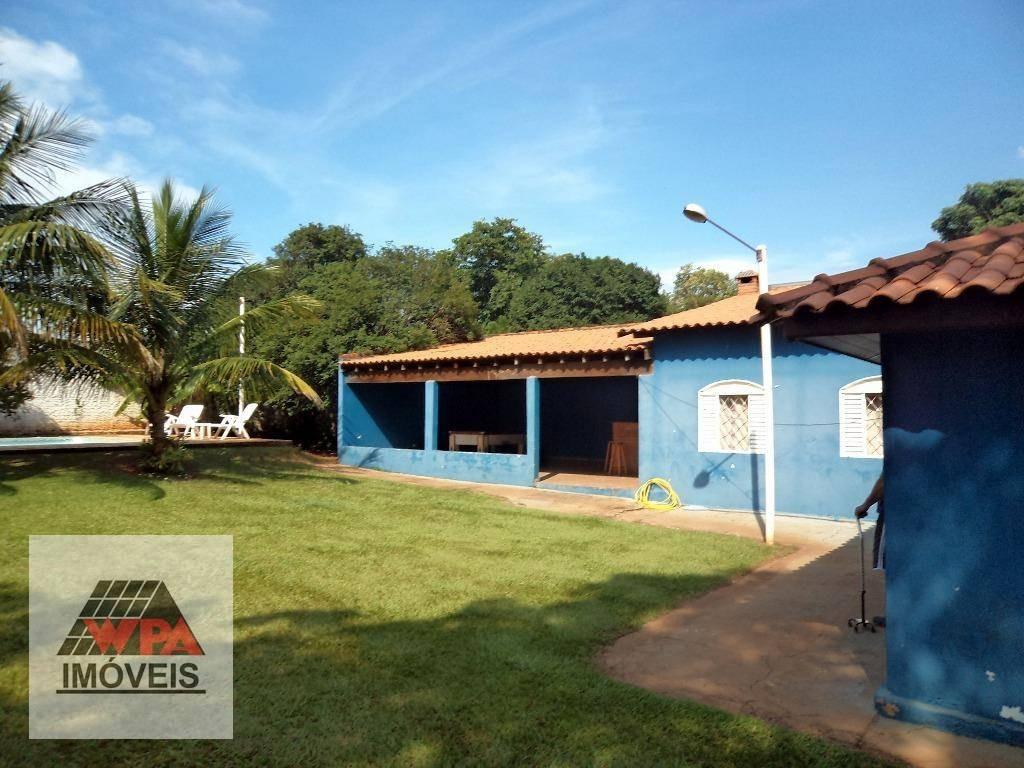 chácara à venda, 1133 m² por r$ 550.000,00 - recanto do guarapari - nova odessa/sp - ch0049