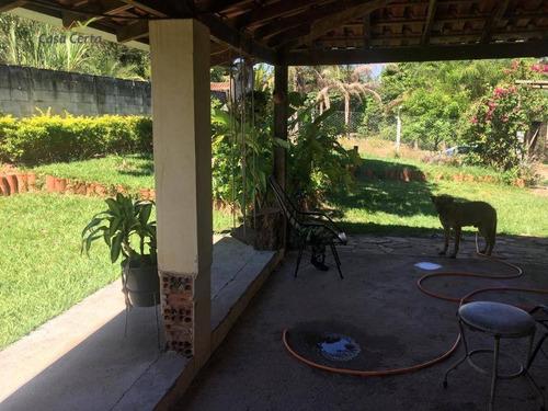 chácara à venda, 1200 m² por r$ 280.000,00 - chácaras paraíso das samambaias - mogi guaçu/sp - ch0074