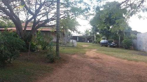 chácara à venda, 2600 m² por r$ 390.000,00 - jardim santa terezinha - mogi guaçu/sp - ch0072