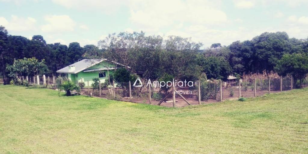 chácara à venda, 28400 m² por r$ 580.000,00 - engenho velho - campina grande do sul/pr - ch0071