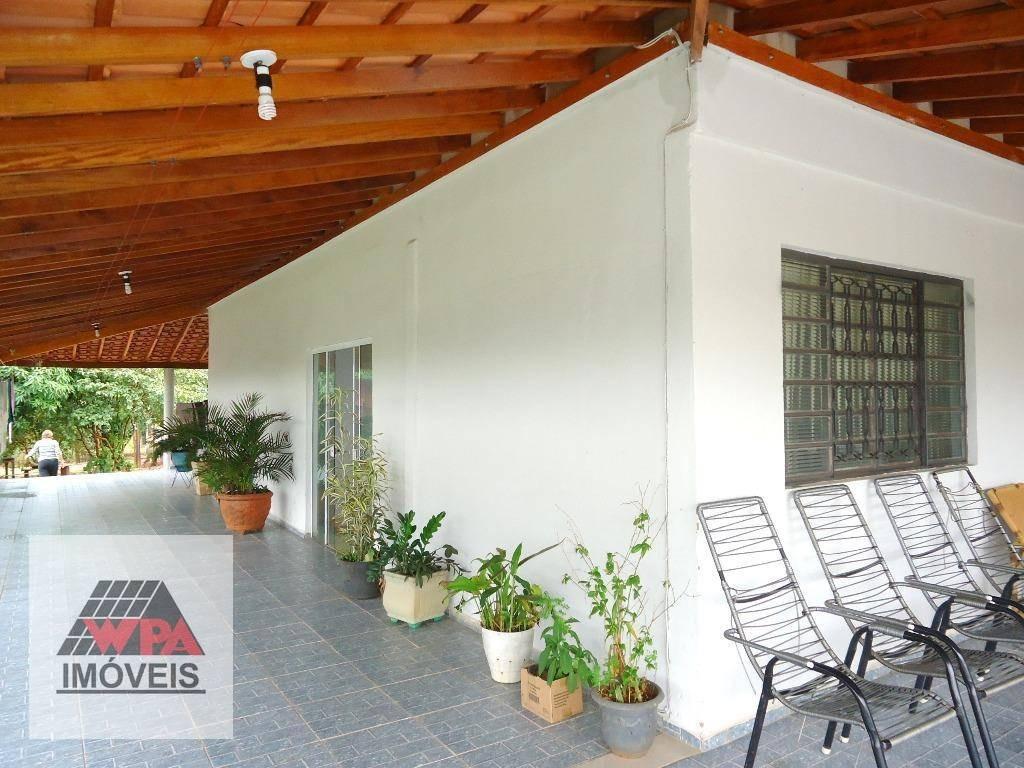 chácara à venda, 3000 m² por r$ 680.000,00 - chácaras de recreio represa - nova odessa/sp - ch0061
