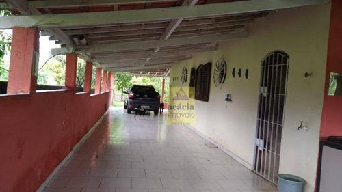chácara à venda, 4000 m² por r$ 350.000 - centro - pilar do sul/sp - ch0017
