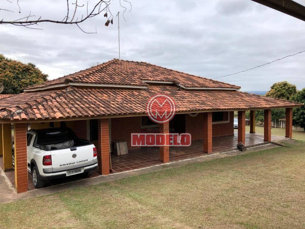 chácara à venda, 5000 m² por r$ 700.000,00 - zona rural - santa maria da serra/sp - ch0170