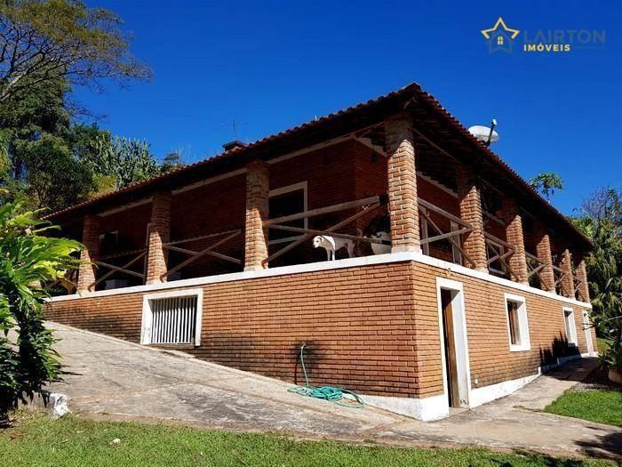chácara à venda, 5152 m² por r$ 700.000,00 - rancho caiocara - atibaia/sp - ch1253