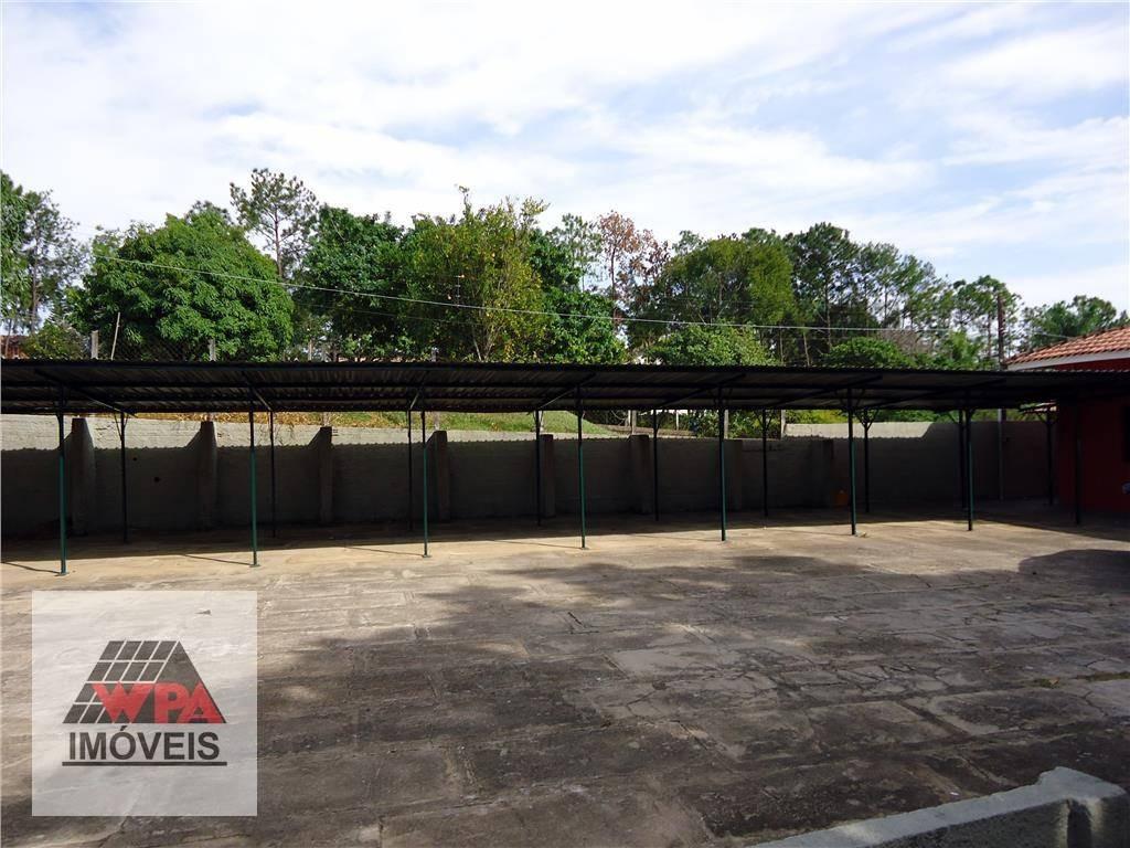 chácara à venda, 5680 m² por r$ 1.200.000,00 - chácaras de recreio represa - nova odessa/sp - ch0022