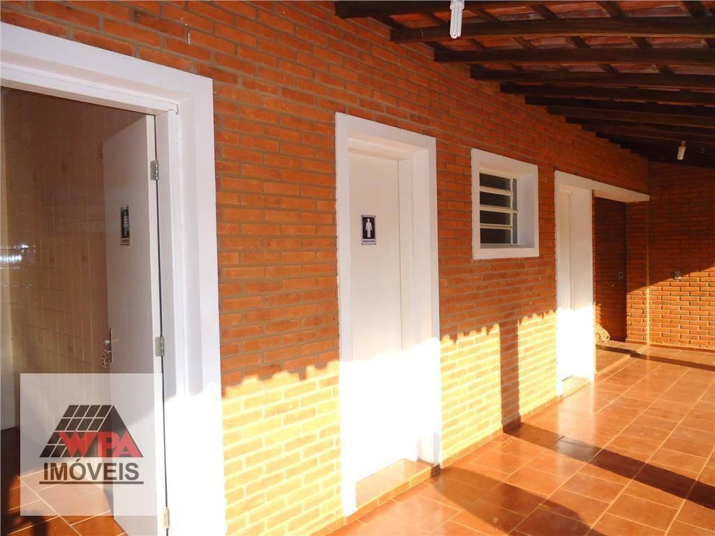 chácara à venda, 6000 m² por r$ 2.000.000,00 - recanto do guarapari - nova odessa/sp - ch0039
