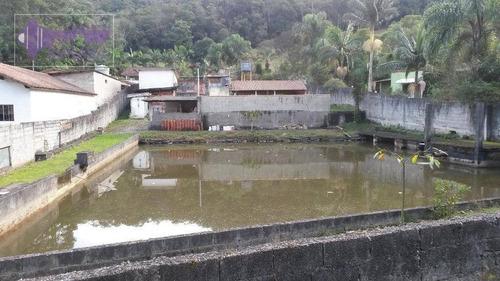 chácara à venda, 70 m² por r$ 450.000,00 - sítio casa vermelha (ouro fino paulista) - ribeirão pires/sp - ch0001