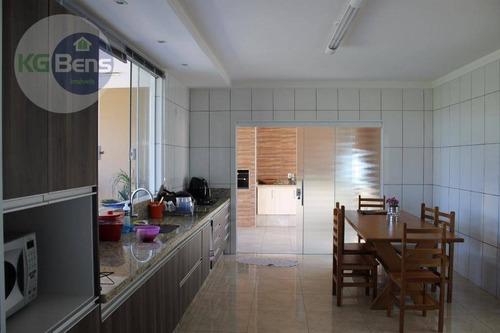 chácara à venda, 850 m² por r$ 780.000,00 - parque da represa - paulínia/sp - ch0024
