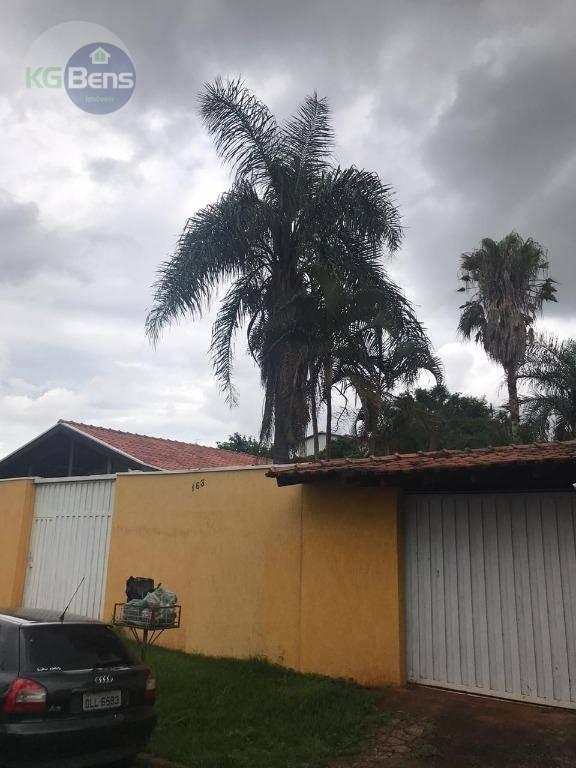 chácara à venda, 940 m² por r$ 750.000,00 - jardim planalto - paulínia/sp - ch0028