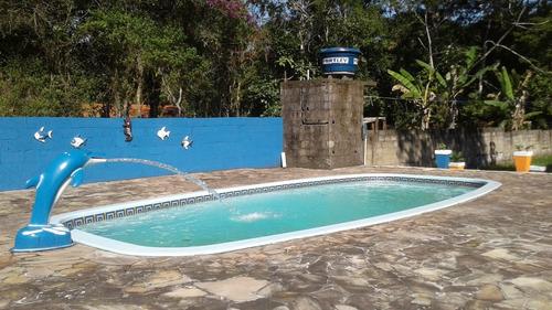 chácara à venda com piscina em itanhaém. 402