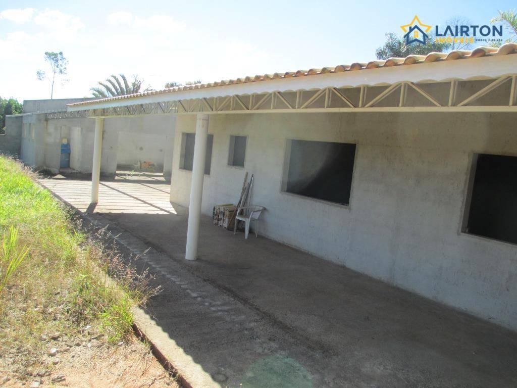 chácara à venda de 2250 m² por r$ 650 mil no caioçara em jarinu sp - ch1247