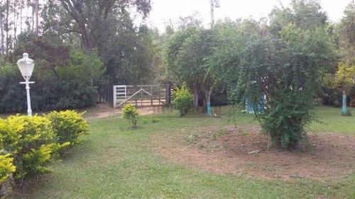 chácara à venda no condomínio monte verde, itu. - ch0332