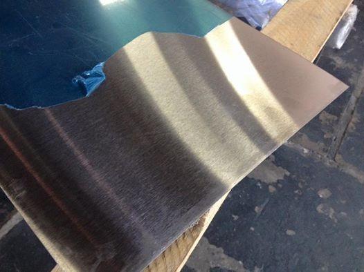 206dd3c91 Ch.aço Inox 430 Brilhante 40cm X 40cm Na Esp. De 0