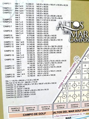 chacra 14 san clemente de 70.289 mts2 reserva con u$s 4.000