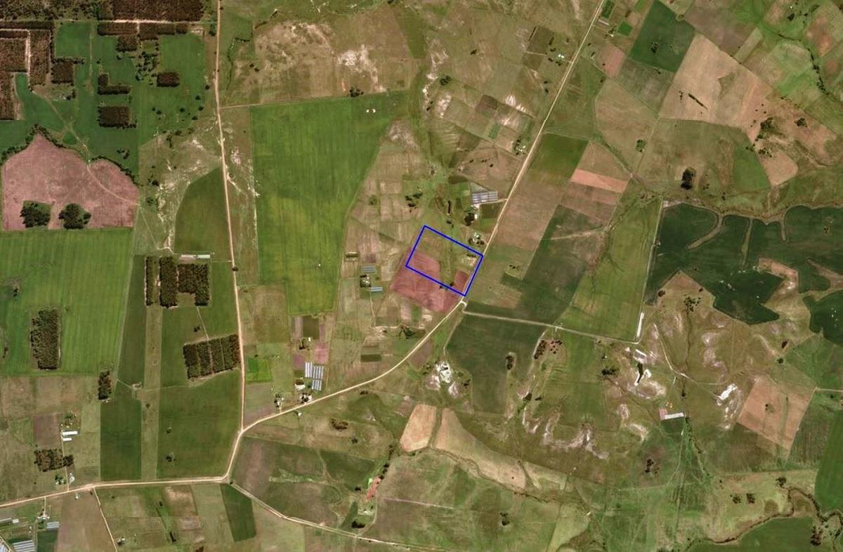 chacra 7 has con vivienda zona pedernal tala