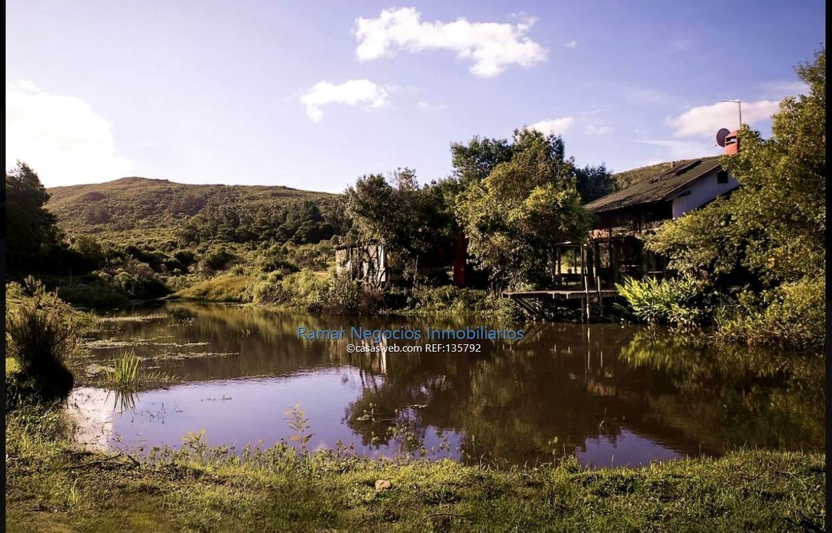 chacra con laguna privada punta del este