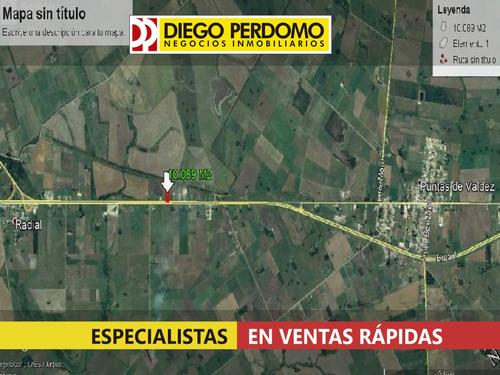 chacra de 10.087m² en venta, localidad de libertad - uruguay