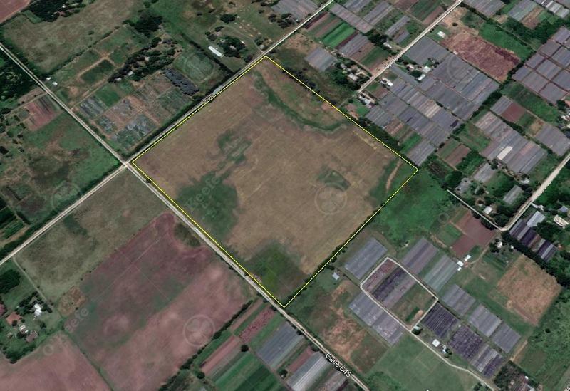 chacra de 18 has -  horticultura / emprendimiento - a 1200mt de asfalto