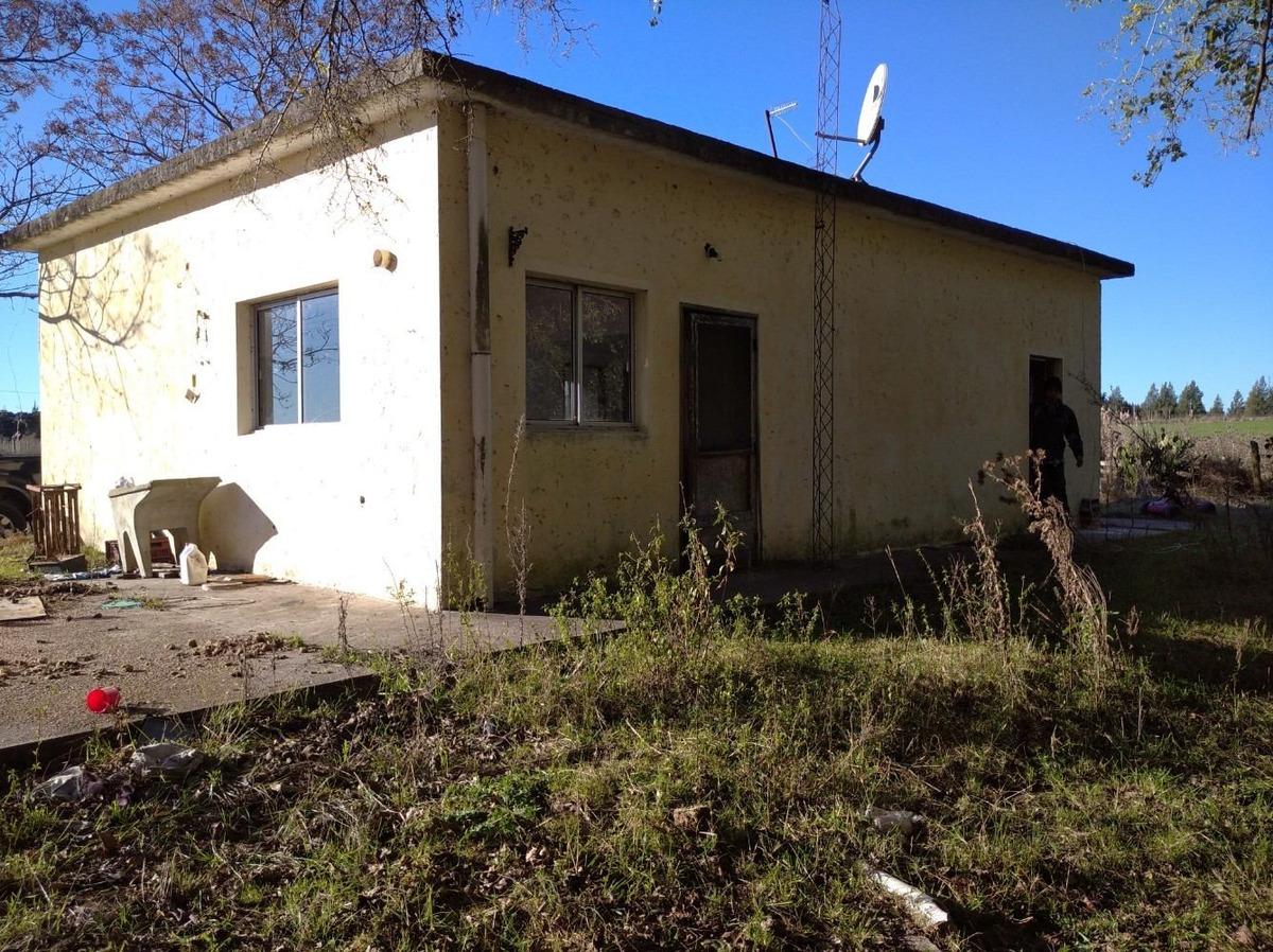 chacra de 3 hectáreas con casa y galpón