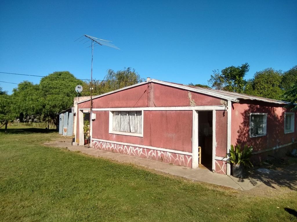 chacra de 3 hectareas con dos casas + una tercera comunicada