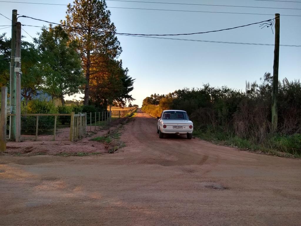 chacra de 3 hectáreas en camino vecinal . parador tajes