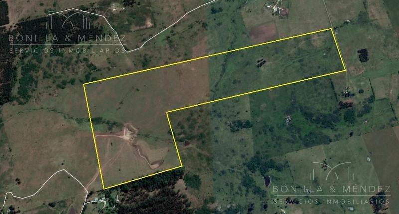 chacra de 5 hectáreas en ruta interbalnearia.