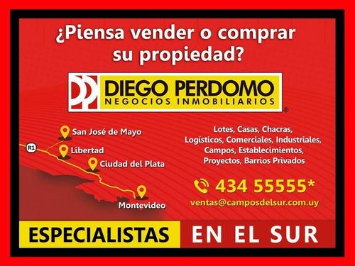 chacra de 6.9 has en venta, san josé - uruguay