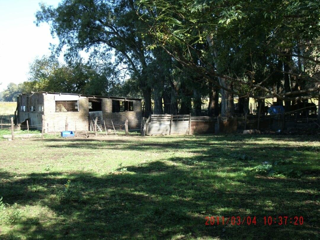 chacra de 8 hectareas con casa principal en lujan**