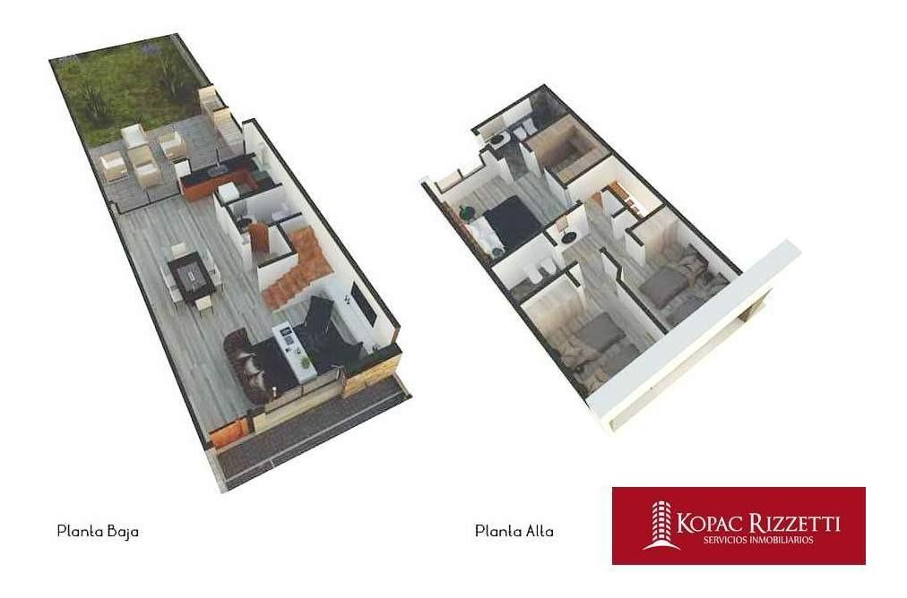 chacra del norte (spilimbergo y colectora) - venta duplex 3 dorm.