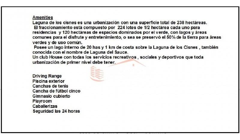 chacra en uruguay, punta del este, laguna de los cisnes- ref: 21469