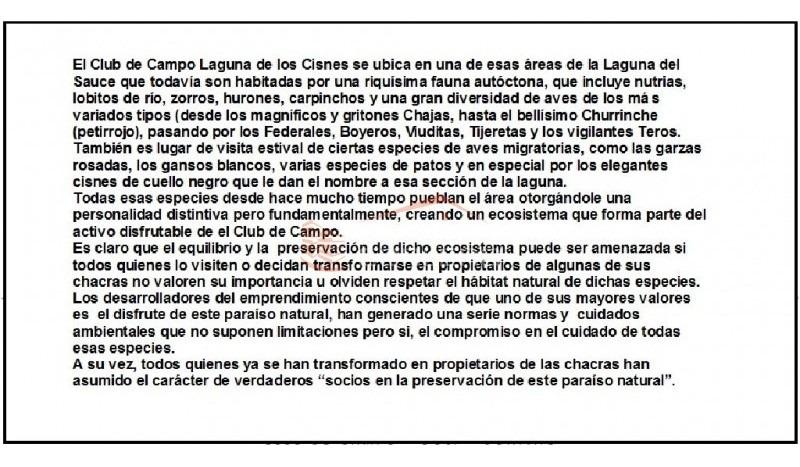chacra en uruguay, punta del este, laguna de los cisnes- ref: 21523