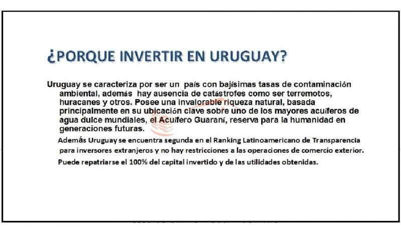 chacras en uruguay, punta del este- ref: 21519