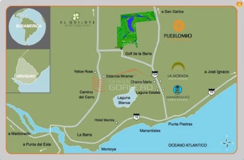 chacras en uruguay, punta del este, ruta 104, manantiales- ref: 21587