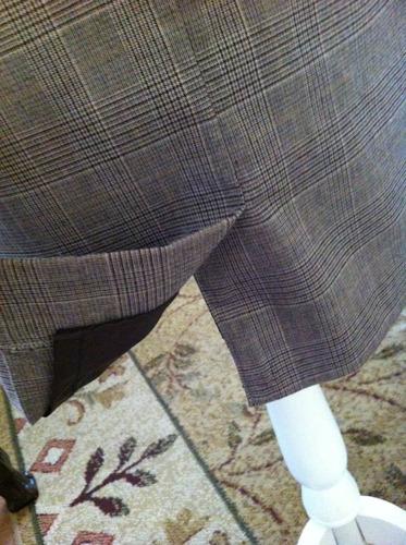 chadwicks hermoso y exclusivo vestido jumper formal peplum s